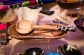 Olive wood serving bowls w/ spoons.  Handmade in Kenya, $45-85 - Harkiss Designs